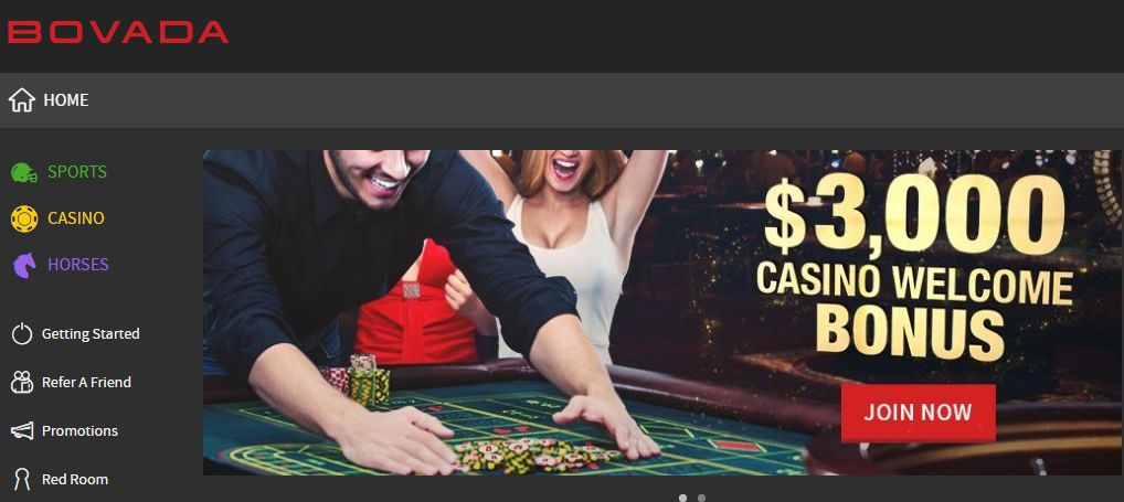 Read more about the article Bovada-Get $3,250 Free Bonus and Play Casino, Bet on Sports, Horses