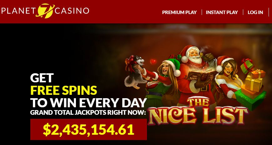 Planet 7 Casino-Get $135 Bonus | 400% Sign Up and 55 Spins