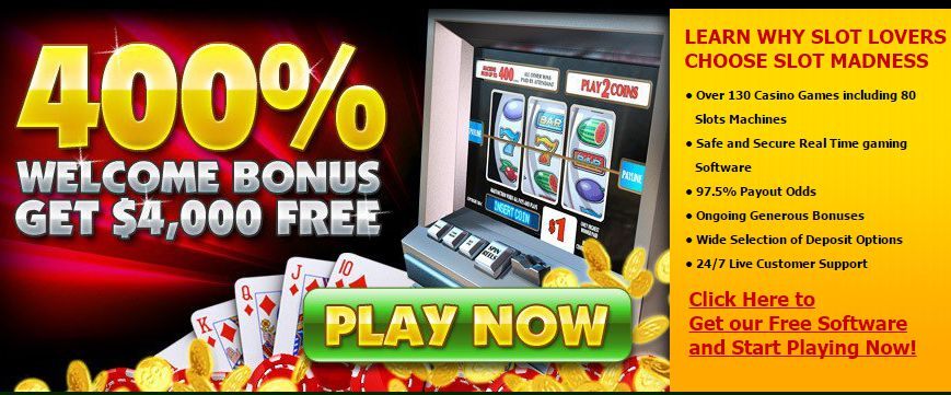 You are currently viewing Slot Madness Casino – 400% $4000 Welcome Bonus Free With Free Chips